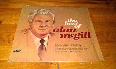 THE BEST OF ALAN MCGILL Word Sacred Music WST-8555 Record Album LP Christian