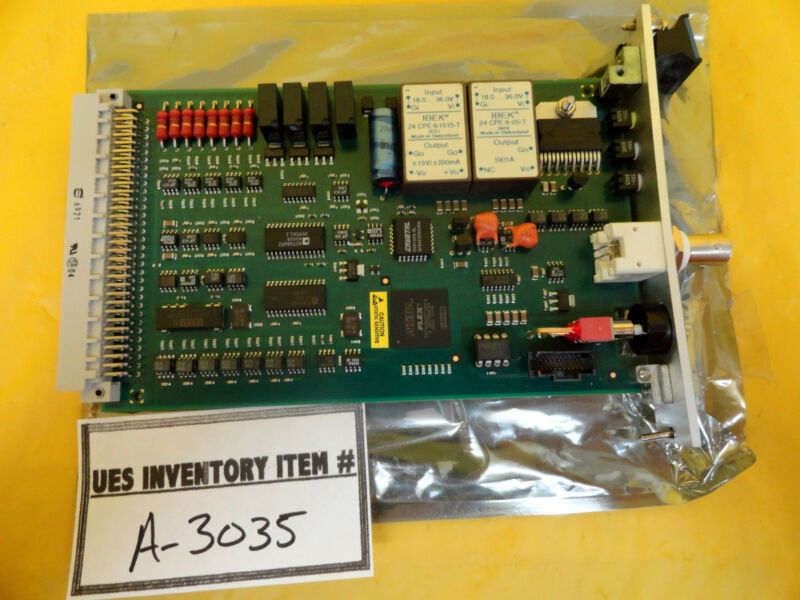 ASML 4022.437.3013 Shutter Control PCB Used Working
