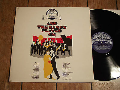 V/A - AND THE BANDS PLAYED ON - DECCA VINTAGE SERIES  - 2 LPs