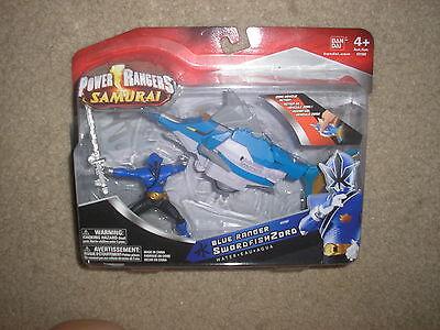 New Power Rangers Samurai Blue Ranger SwordfishZord  (Blue Power Ranger Samurai)