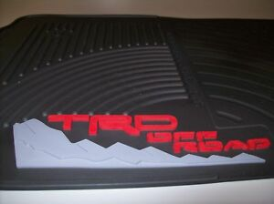 2005-2011 TACOMA TRD ALL WEATHER FRONT FLOOR MATS PT908-350RW-02 GENUINE TOYOTA