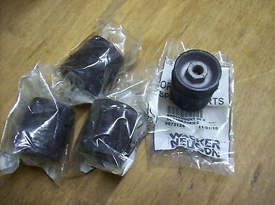 Wacker Vpa1340 1350 Vpa1750 Plate Compactor Tamper Rubber Shock Mounts 0073124