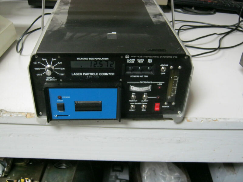 Particle Measuring Systems Model: LPC-555 Laser Particle Counter <