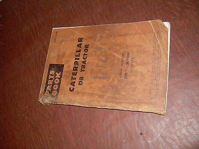 Caterpillar Cat D8 Bulldozer Tractor Parts Manual Book Sn 2u1-9661
