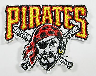 Mlb Circle - LOT OF (1) MLB PITTSBURGH PIRATES EMBROIDERED PATCH PATCHES ITEM # 64