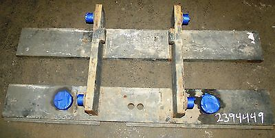 2394449 Clark Forklift Upright Mast Carriage Weld Class 3 Iii Used 49x20