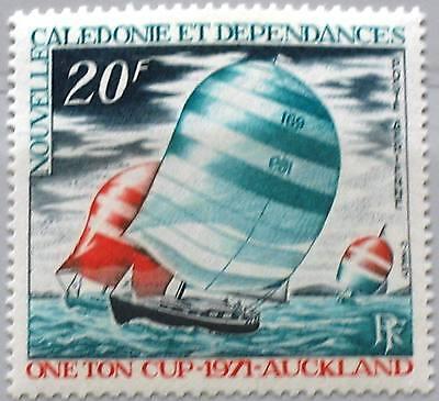 NEW CALEDONIA NEUKALEDONIEN 1971 498 C80 Int Sailing Regatta Segeln Yachts MNH