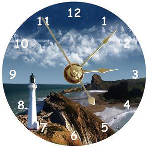 NEW Lighthouse CD Clock
