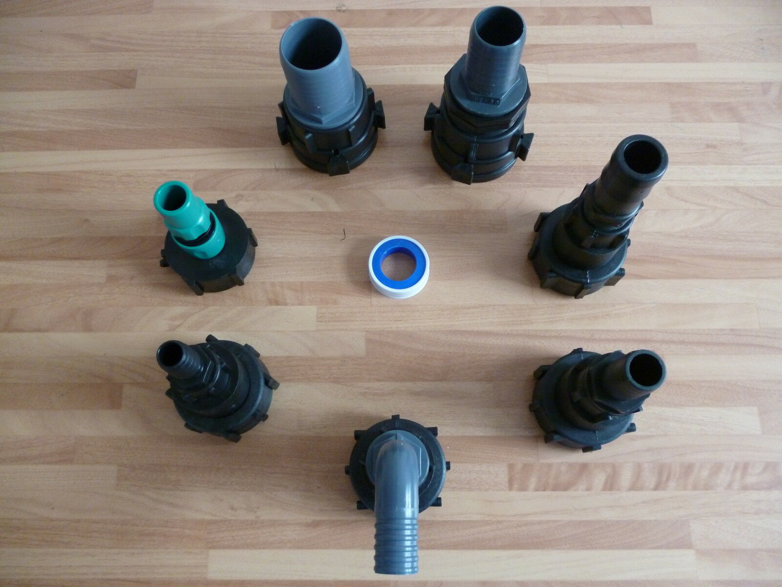 IBC Adaptor to Hose Tail Water Tank Hoselock IBC Fitting Oil Tank