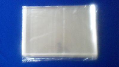 100 Sleeves Magazine Plastic Protectors Storage Bags Pack