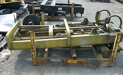 Cl-240z786 Forklift Mast Upright Lift Used With Carriage