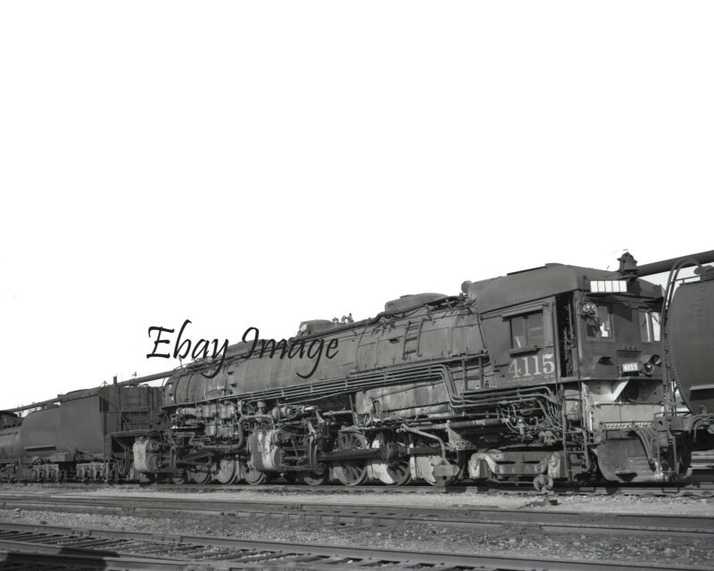 """Southern Pacific # 4115  8"""" x 10"""" Photo"""