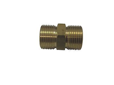 European Hose Coupler M22 X M22 14mm Fits Most Hoses W Screw On Couplers