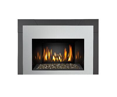 Napoleon Gas Fireplace Insert IR3GN Modern Contemporary Fire Crystals Glass ()