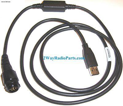 Real Oem Motorola Mototrbo Programming Cable Usb Hkn6184 C Xpr5550 E Xpr5550e