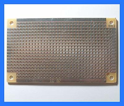 2 X Prototyping Pcb Circuit Board Stripboard 94x53mm S