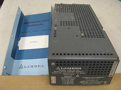Lambda Regulated Power Supply Lrs-54-48 Nsn 6130-01-311-2597