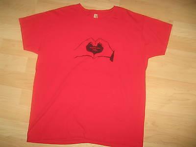 Schere für Lefty San Francisco Indie Rock Band Herz Konzert Tour T-Shirt L