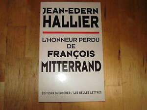l'honneur perdu de francois mitterrand