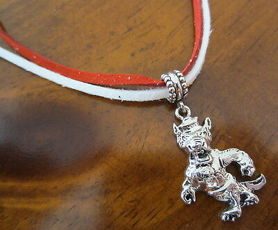 new! NC North Carolina State Wolfpack PENDANT NECKLACE game day fan jewelry