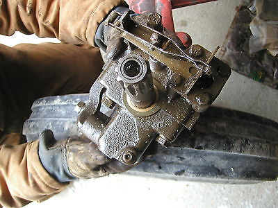 Massey Harris Ferguson Model 50 Tractor Good Working Hydraulic Pump Assembly
