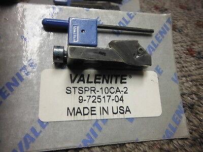 3 Valenite Insert Cartridge Tool Holder Stspr-10ca-2 New