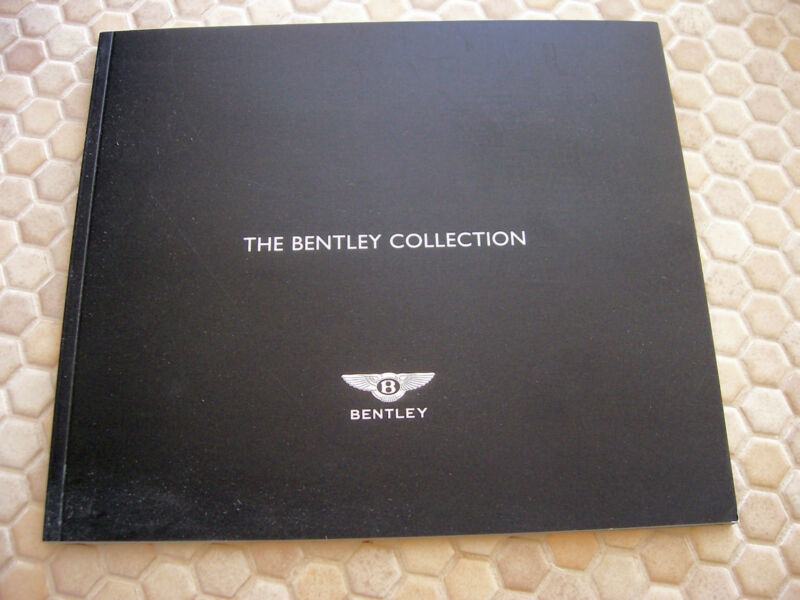 BENTLEY COLLECTION SHOWROOM GIFTS ACCESSORIES SALES BROCHURE BOOK 2004 USA Ed