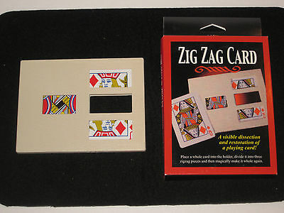 Zig Zag Card Magic Trick - Close Up, Street, Illusion, Cut & Restored Card, EASY