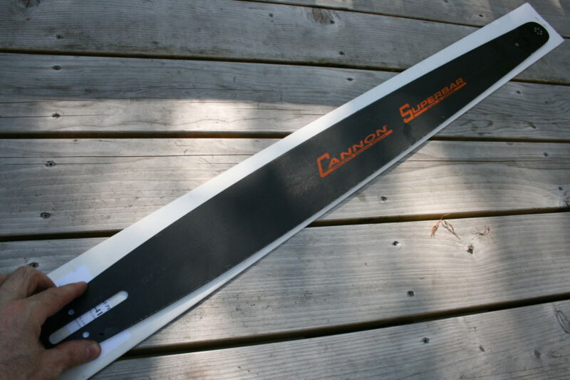 NEW Cannon SUPERBAR 32 inch chainsaw bar 3/8 Pitch .050 Gauge Medium saws