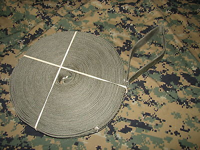 "nylon tow choker strap quad 1"" 50 ft 6000LBS USA MADE tree saver log puller tug"