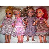 "Four NG Creations Dress Sewing Patterns fits 16/"" Disney Toddler Princess Dolls"
