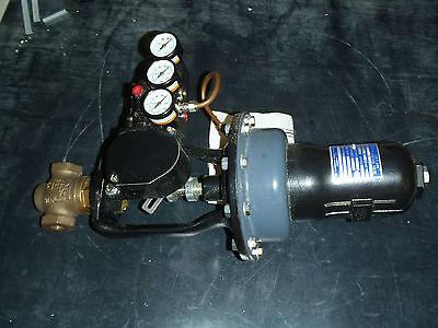 W.e. Anderson Series 150n Pneumatic Positioner Lin-e-aire Control Valve