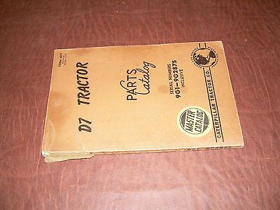 Caterpillar Cat D7 Bulldozer Tractor Parts Manual Book Sn 9g1 9g2875