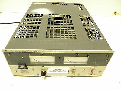 Kepco Ate 25-20m Power Supply Automatic Crossover 0-25v 0-20a High Voltage