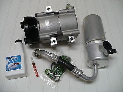 2004-2005-2006 FORD F-150  (with 4.6L & 5.4L engines) NEW A/C AC COMPRESSOR KIT