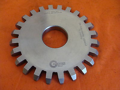 Dathan Gear Cutter Disc Shaper Finishing Non Topping 4 Dp 14.5 Pa 24 T 1.75 Bore