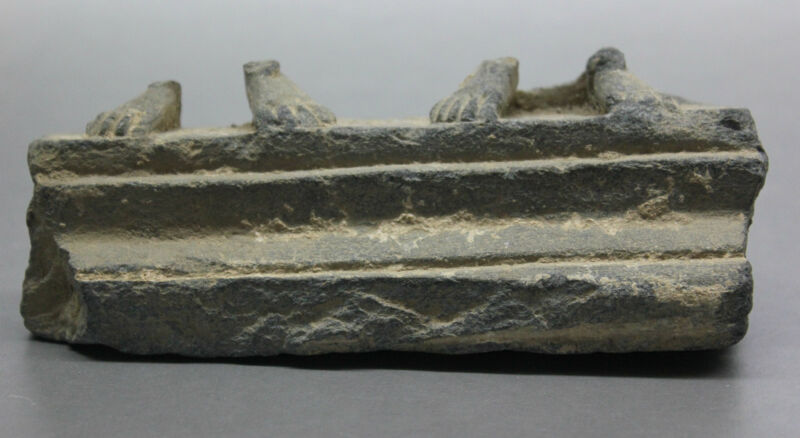 B.C.A.D ART- 300 A.D. GANDHARAN SCHIST FRIEZE FRAGMENT