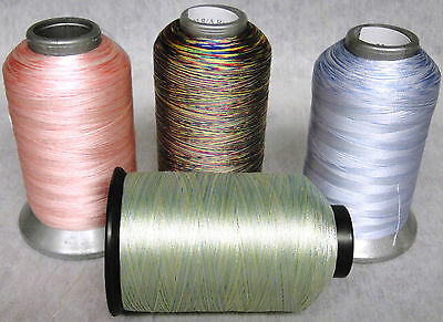 40wt Variegated Rayon Embroidery Thread - Robison Anton 40 Wt Rayon Thread