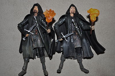 LORD OF THE RINGS FOTR ORIGINAL FIRST STRIDER YELLOW TORCH LIGHT BEARD VARIANT  - Lord Of The Rings Beards