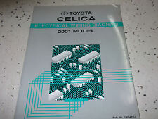 2001 Toyota CELICA Electrical Wiring Diagram Service Shop ...