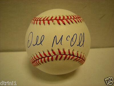 Baltimore Orioles Darnell McDonald autograph major League baseball Auto COA