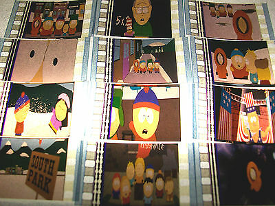SOUTH PARK Film Cell Lot of 12 - animation collectible compliments dvd poster
