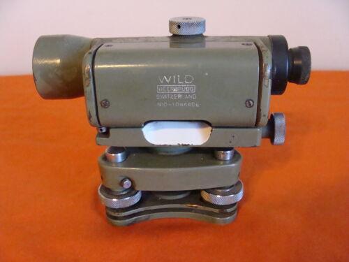 WILD HEERBRUGG TELESCOPE MAGNIFICATION 20X N10-1044493 MADE IN SWITZERLAND