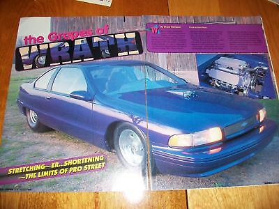 "1992 Chevy Caprice 2 Door Custom Article ""Grapes of Wrath"""