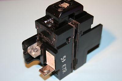 2 Pole 20 Amp Breaker (PUSHMATIC/BULLDOG P220 BREAKER 20 AMP 2-POLE)