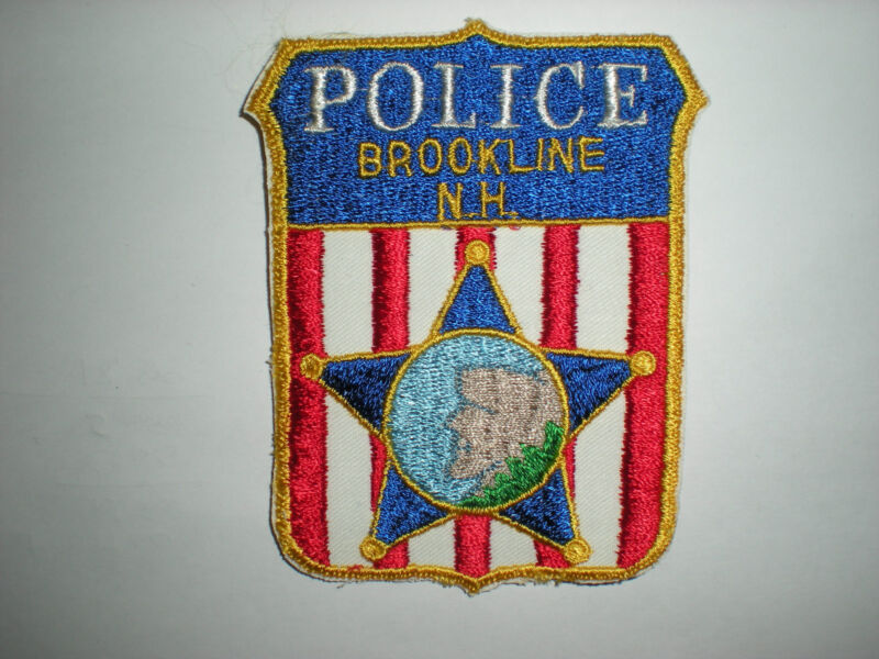 BROOKLINE, NEW HAMPSHIRE POLICE DEPARTMENT  PATCH