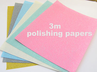 3M Polishing Papers for Art Clay Silver-Precious Metals Gold Copper PMC - Art Clay Copper Clay