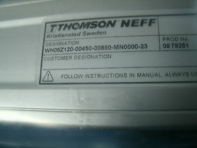 Danaher Thomson Neff Linear Motion System Wh50 Wh05z120-00450-00890-mn0000-62
