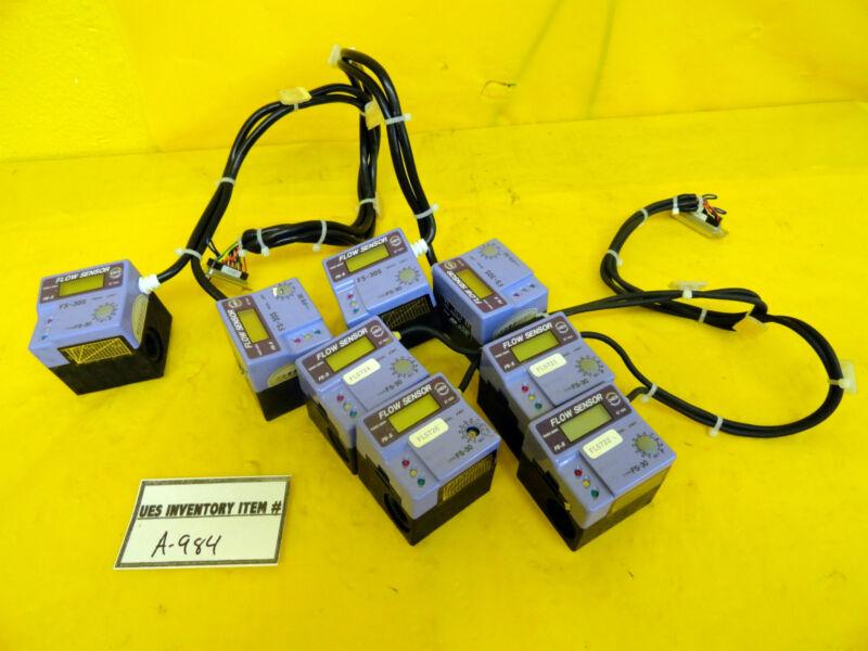 Regal FS-30S Flow Sensor Lot of 8 Used Working