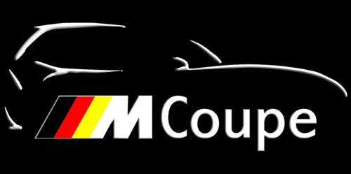 BMW M Coupe Banner Sign Flag High Quality!!!